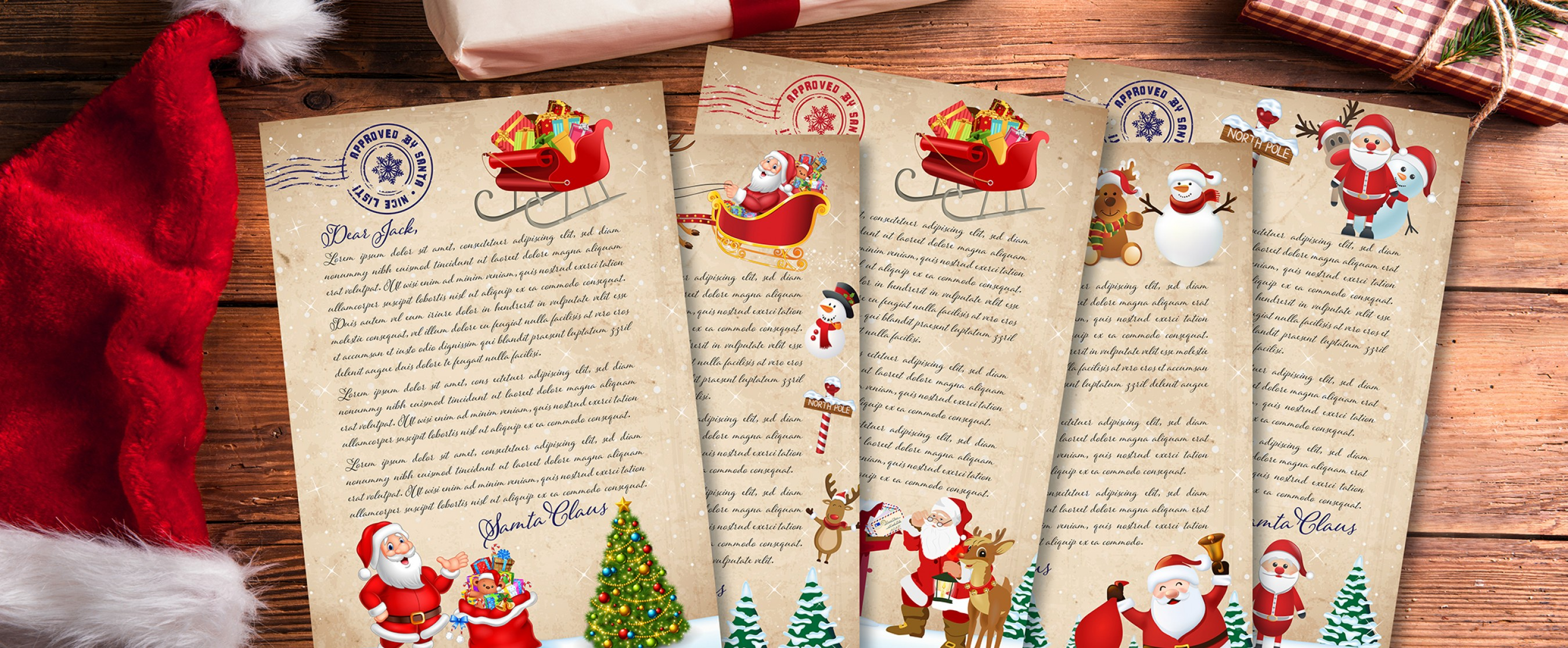 Personalised Letter From Santa Australia  Order Now